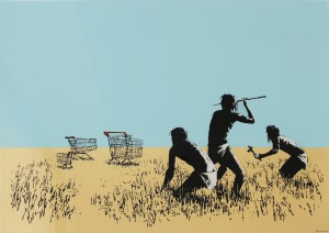 banksy-trolley-hunters