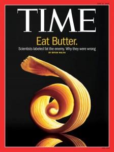 Nasycené tuky máslo