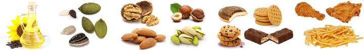 nenasycené tuky omega-6