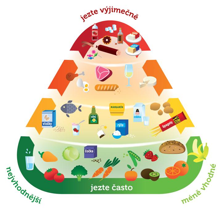 Česká potravinová pyramida 1.0